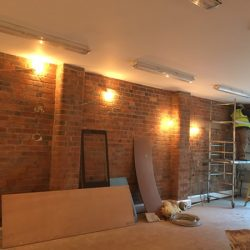 Stuart Crystal Renovation Stourbridge Project Start