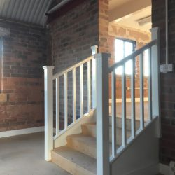 Stuart Crystal Renovation Stourbridge Stair VIew